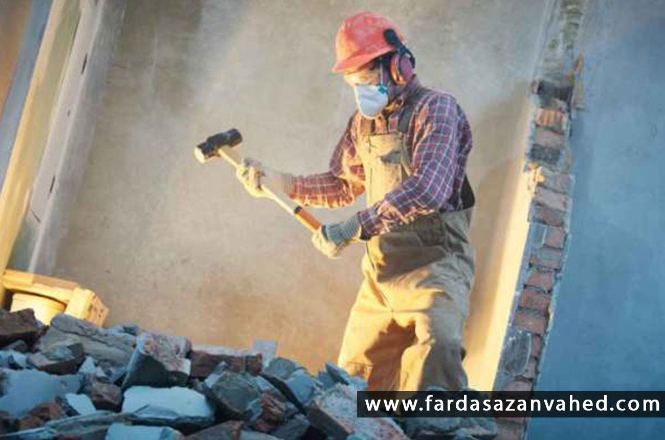 تخریب کاری در تهران
