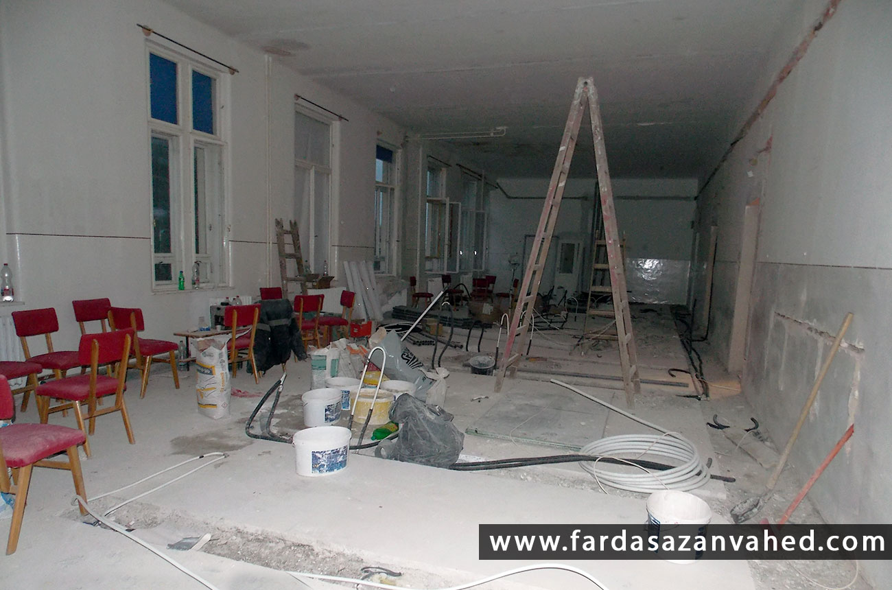 بازسازی ساختمان
